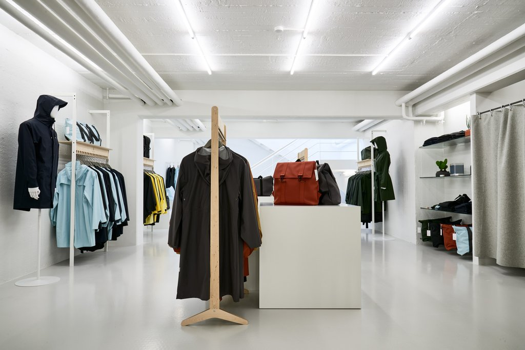 Rains Opens Retail Store In Denmark Sidewalk Hustle