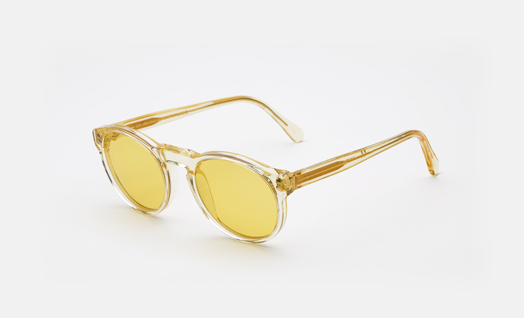 SUPER Matter Sunglasses Yellow