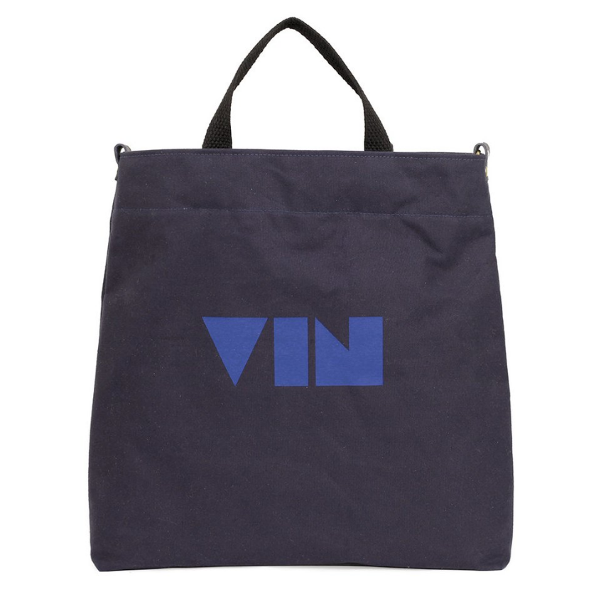 Mike D x Clare V Tote Navy