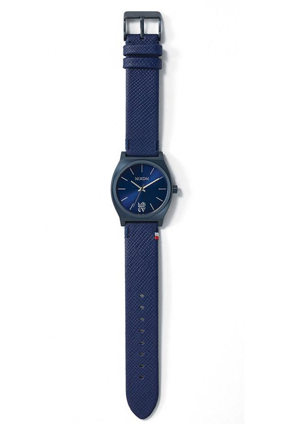 Mike D x Clare V x Nixon Watch Blue