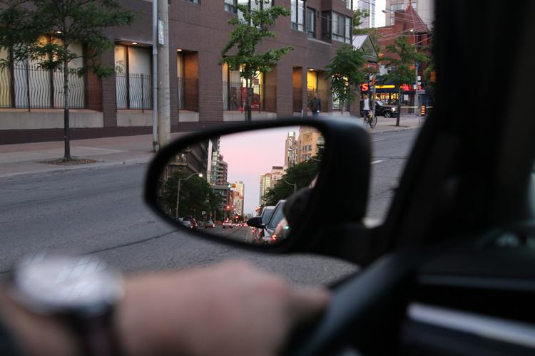 Toyota Corolla S 2016 mirror
