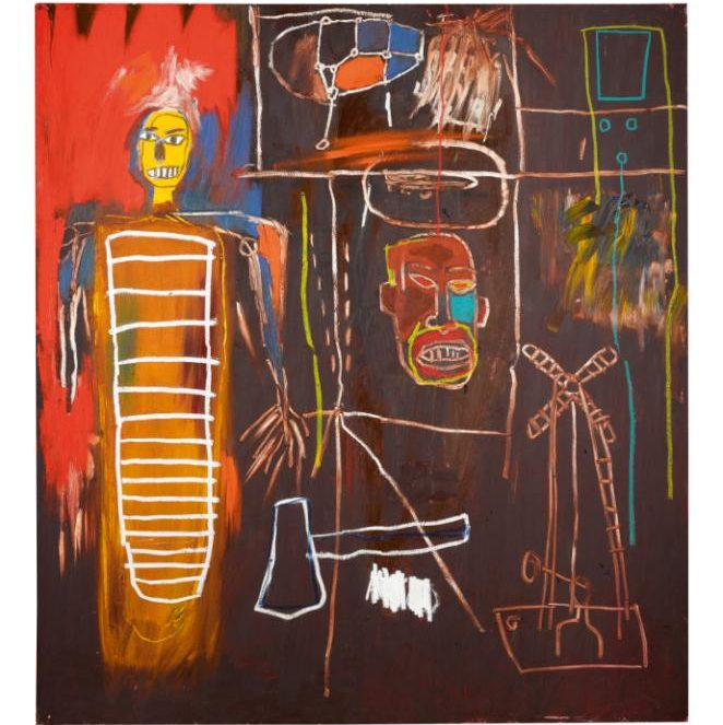 Bowie Basquiat Air Power