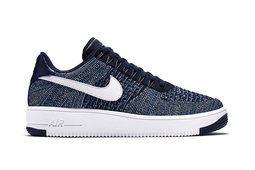 Nike Drops the Air Force 1 Flyknit in Navy-2