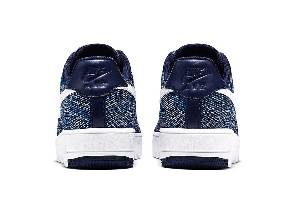 Nike Drops the Air Force 1 Flyknit in Navy-3