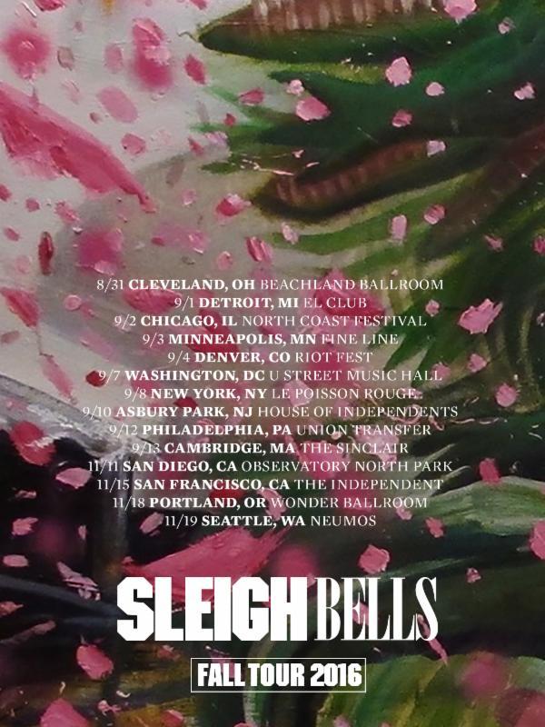 Sleighbells tour