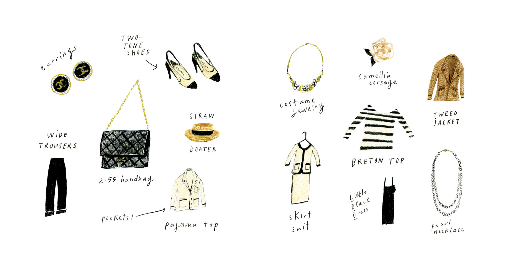 Coco Chanel Illustrated Biography 2