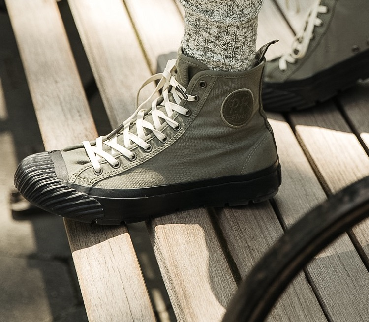 Todd Snyder x PF Flyers Grounder Hi-Top Silhouette-2