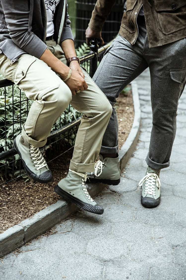 Todd Snyder x PF Flyers Grounder Hi-Top Silhouette-5
