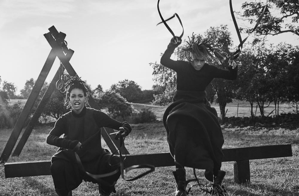 Jaden and Willow Smith for Interview Magazine 3