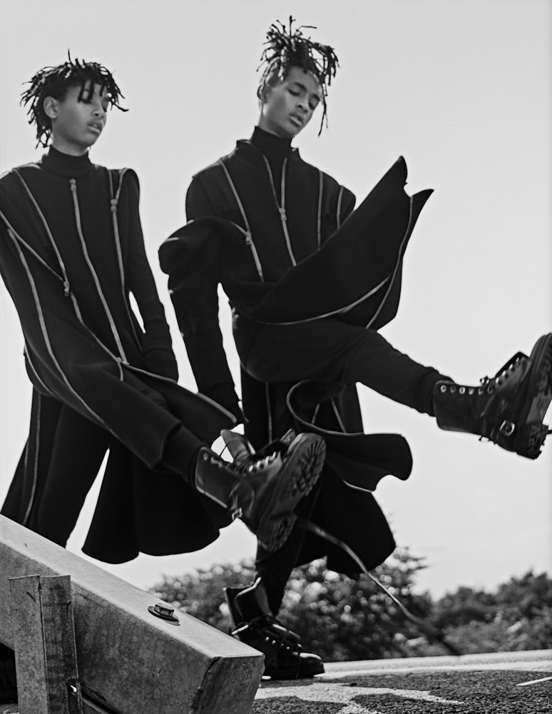 Jaden and Willow Smith for Interview Magazine 6
