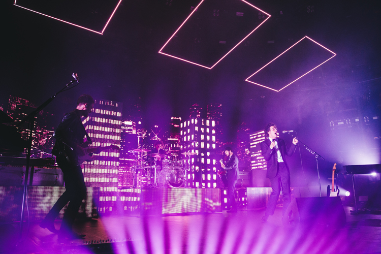 The 1975 performs at Apple Music Festival London, 19 September 2016, Photo by: Andrew Whitton © APPLE.