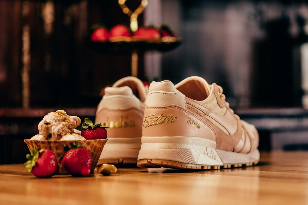 Feature x Diadora Strawberry Gelato N.9000 Sneaker 3