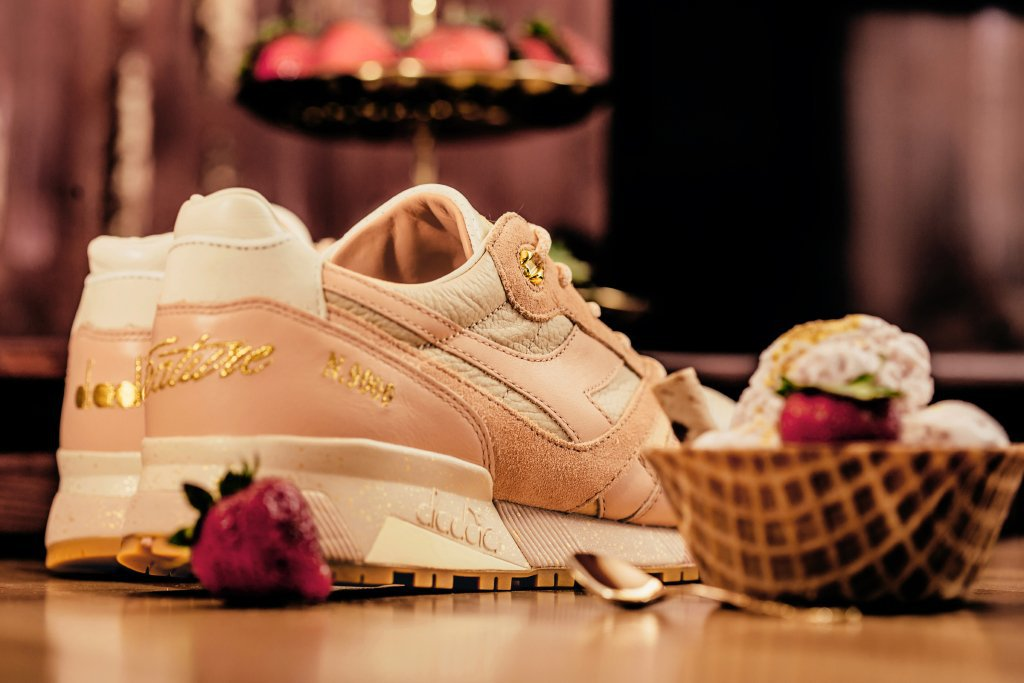 Feature x Diadora Strawberry Gelato N.9000 Sneaker 4