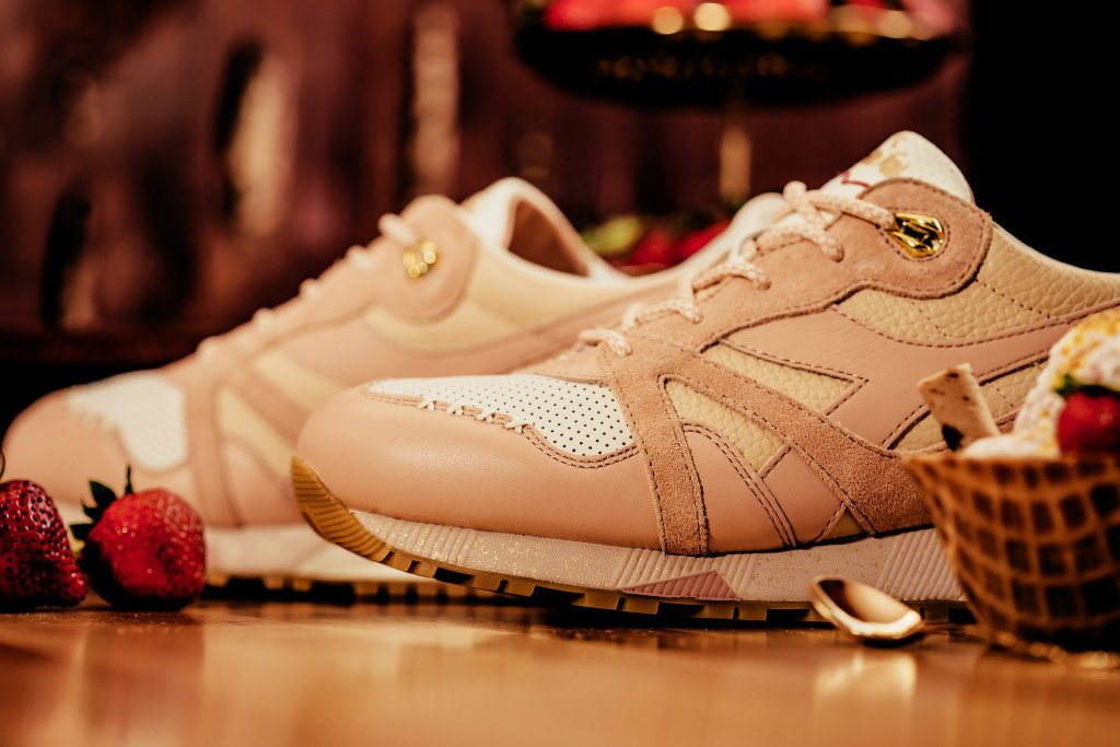 Feature x Diadora Strawberry Gelato N.9000 Sneaker 5