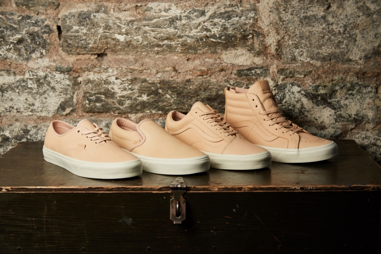 Vans Veggie Tan Leather Collection | Sidewalk Hustle