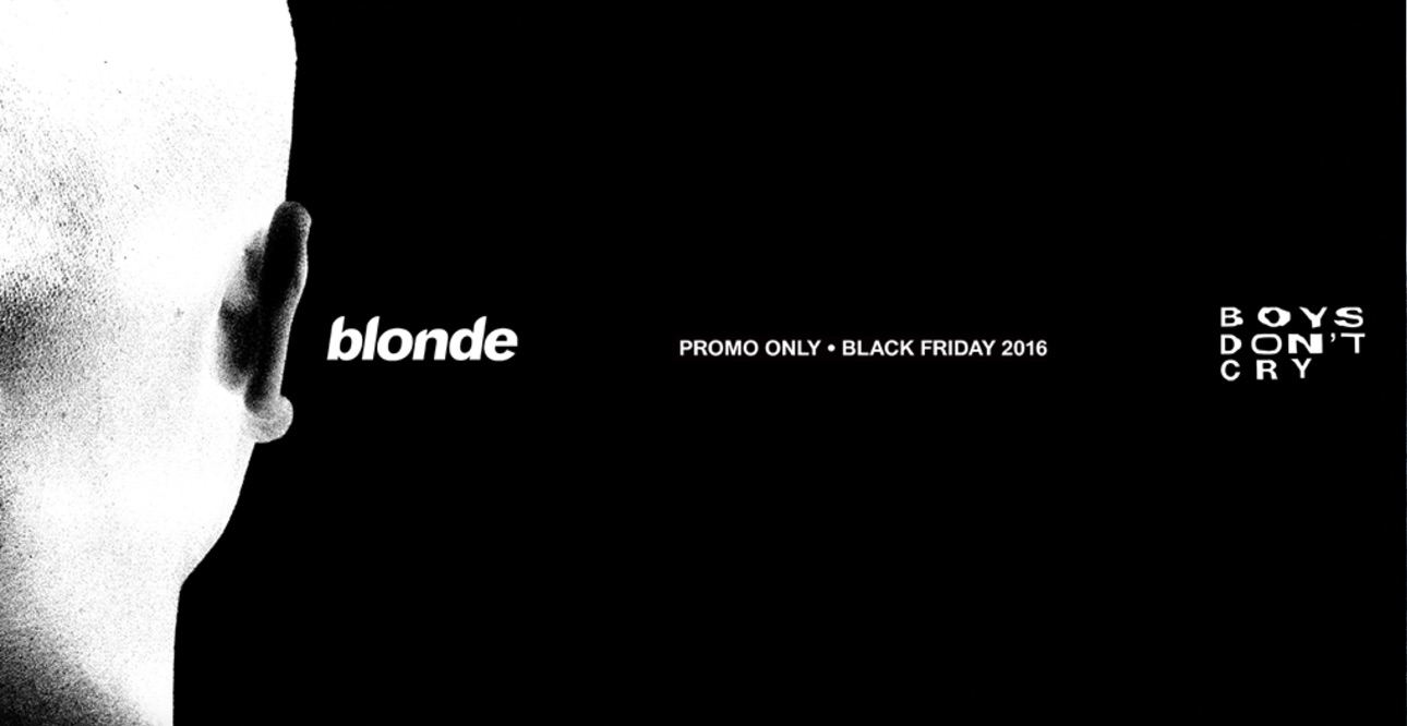 d3a8eead Frank Ocean Drops Exclusive Black Friday 'Blonde'/'Boys Don't Cry' Merch
