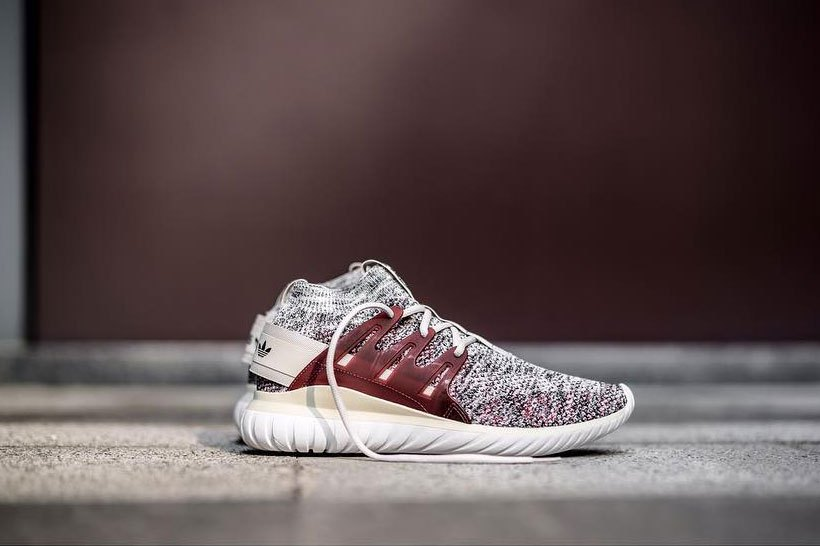 new product 9f5ec 6c0ef adidas Originals Shares Tubular Nova Primeknit Maroon ...