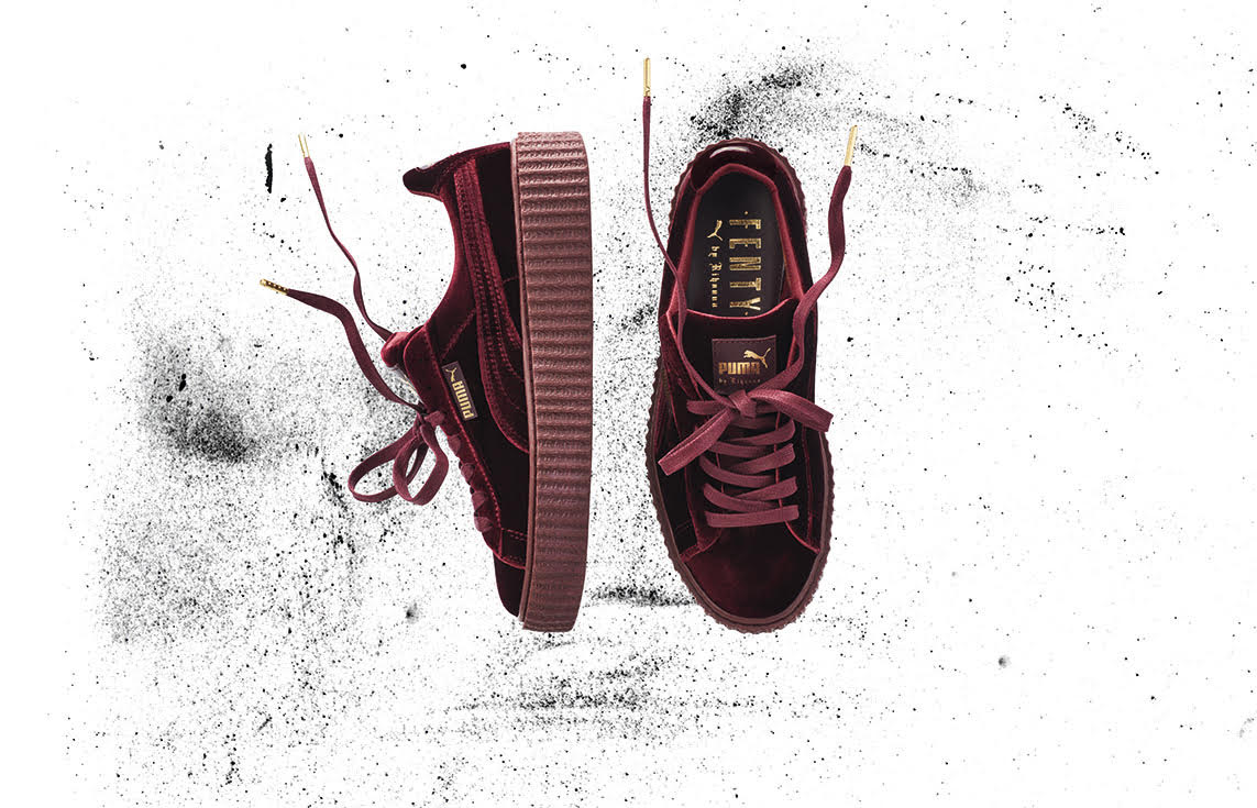 buy popular ffaca b971f FENTY x PUMA by Rihanna releases Velvet Creeper | Sidewalk ...