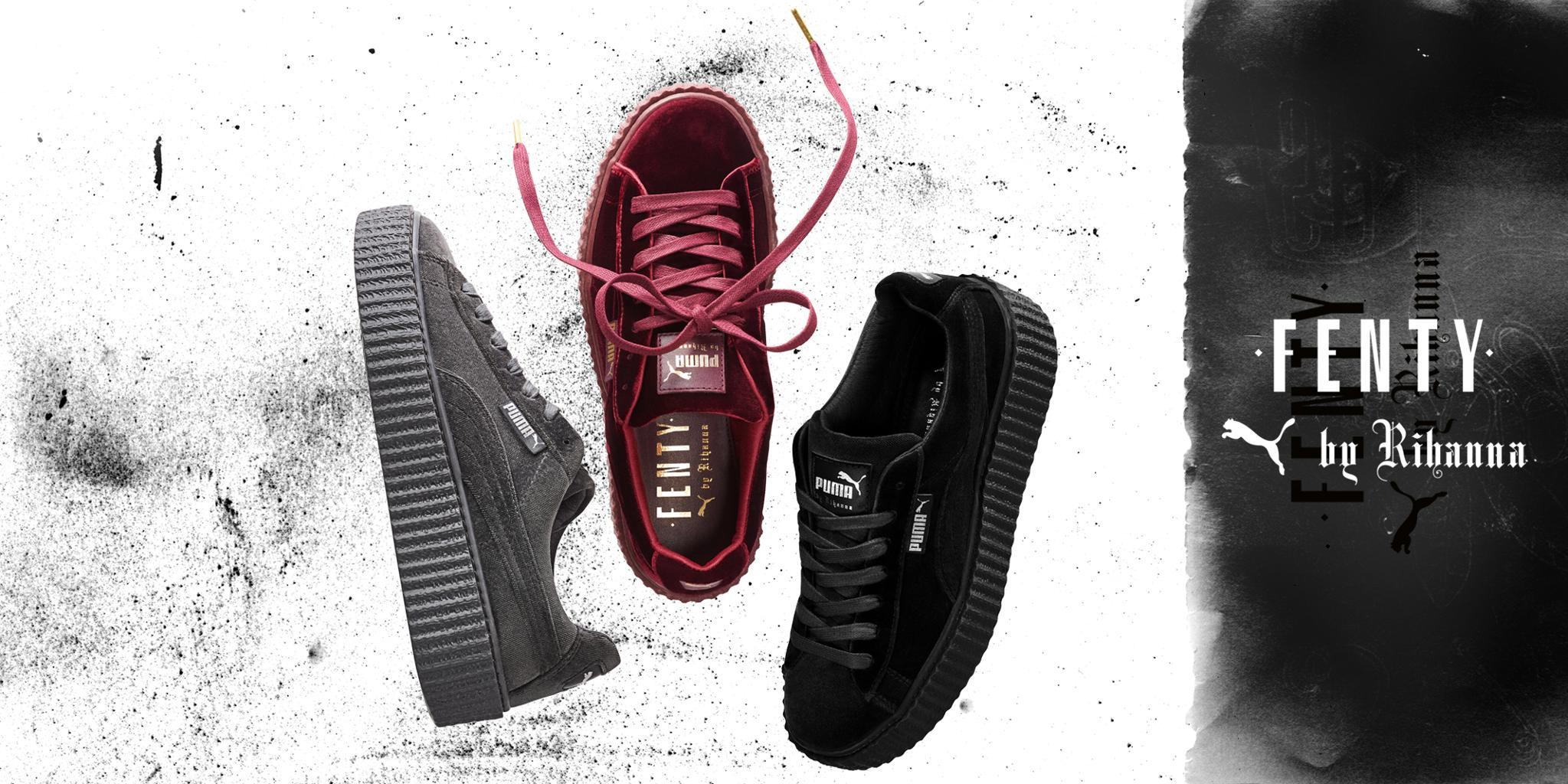 buy popular 1d0cf c3eab FENTY x PUMA by Rihanna releases Velvet Creeper | Sidewalk ...