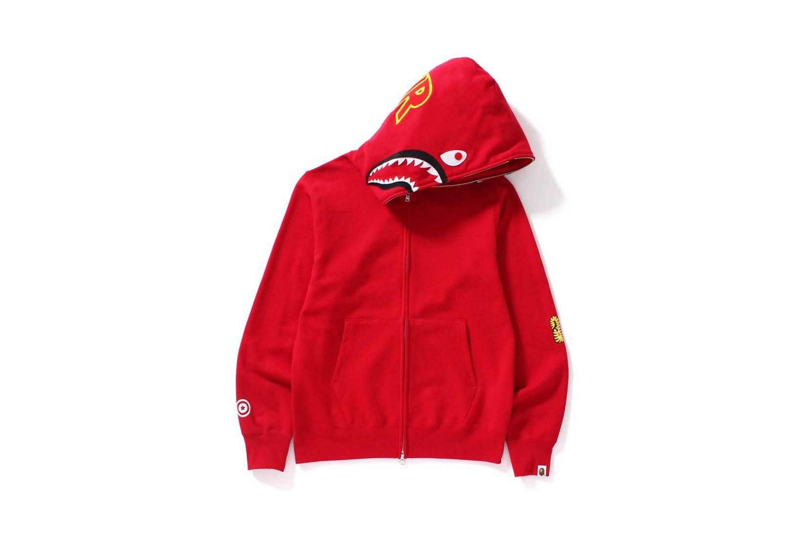 7120055c677b Check out some photos below and look out for the 2nd Shark Full Zip Hoodie  capsule on BAPE s website and at select retailers on April 1.