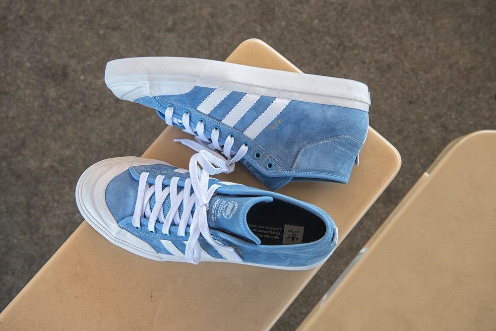 "The adidas Skateboarding Matchcourt x MJ ""Carolina Blue"" is now available  from global retailers and online for  80 USD. 89647ef73"