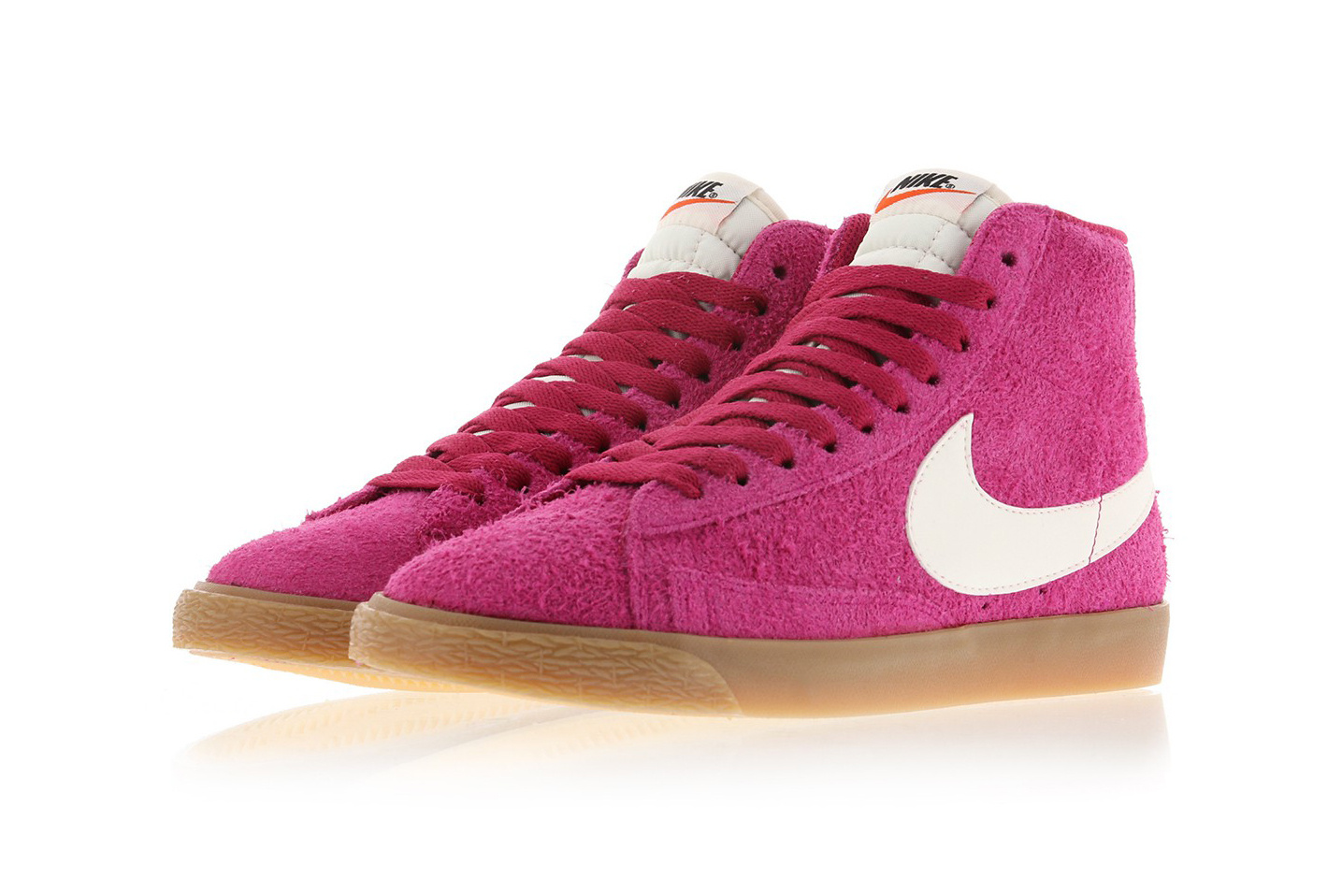 """best sneakers 5a7fb 1744c Take a look at some additional images of the girly sneaker below, and keep  an eye out for the """"Sport Fuchsia"""" at select Nike stockists. Nikenike  Blazer Mid ..."""