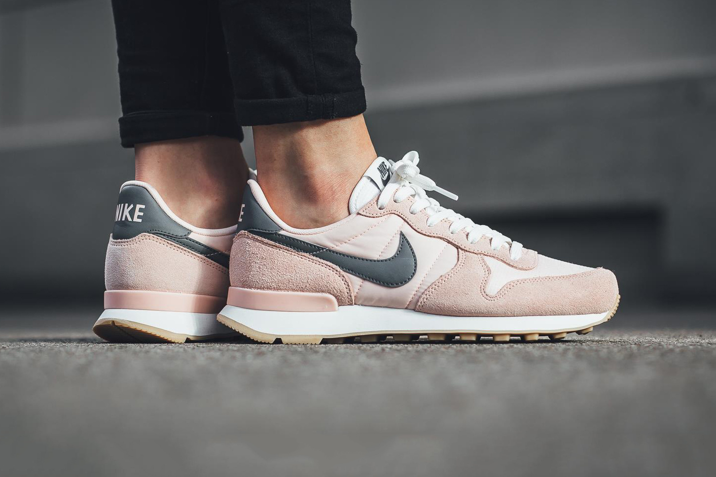 "wholesale dealer 24cbc 3f589 Nike Unveils Internationalist in ""Sunset Tint Cool Grey"""