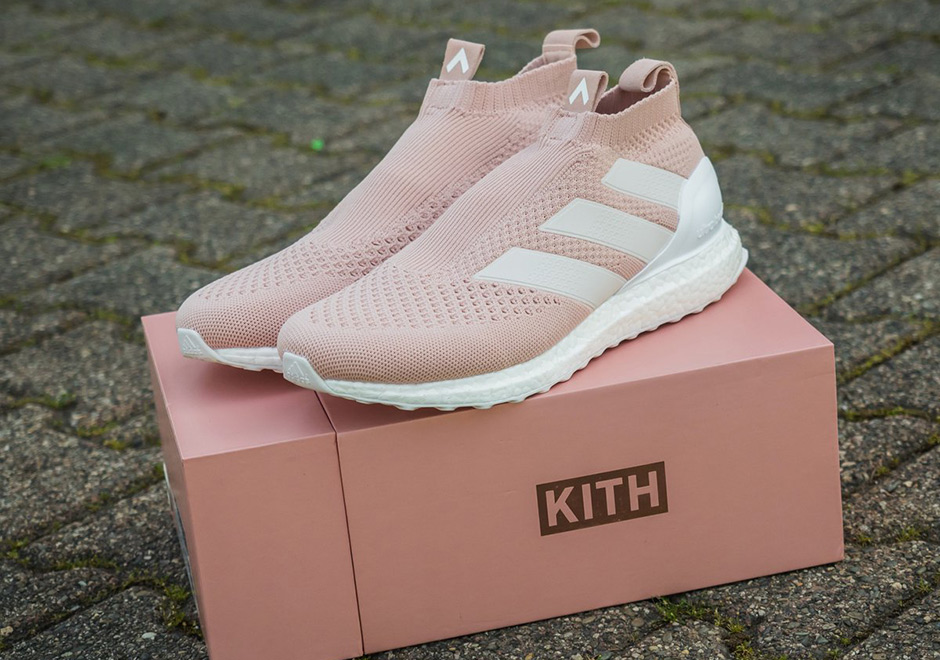 half off 15afd ab073 Here's a First Look at the Upcoming KITH X adidas AC16+ ...