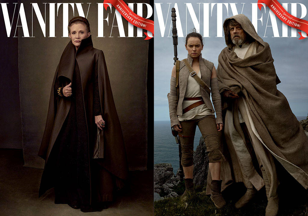 The Cast Of Star Wars Fronts Four Exclusive Vanity Fair Covers Sidewalk Hustle