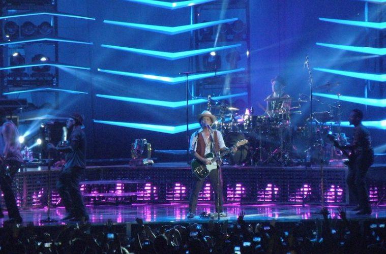 See Bruno Mars live