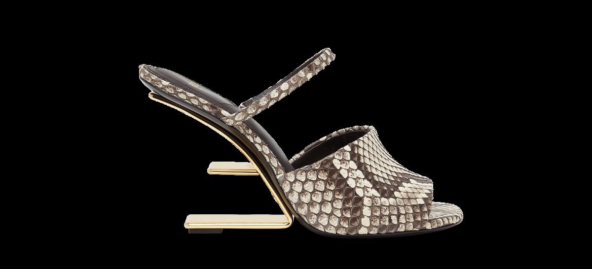 FENDI First Python Shoes, Kim Jones